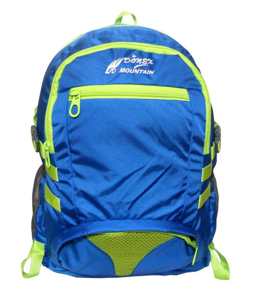 Donex Blue Laptop Compatible Backpack