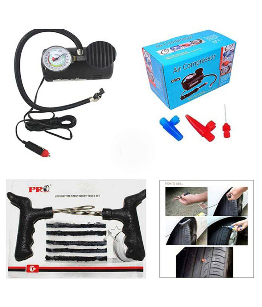 MBK Electric Car Bike Tyre Inflator Pump Compressor With