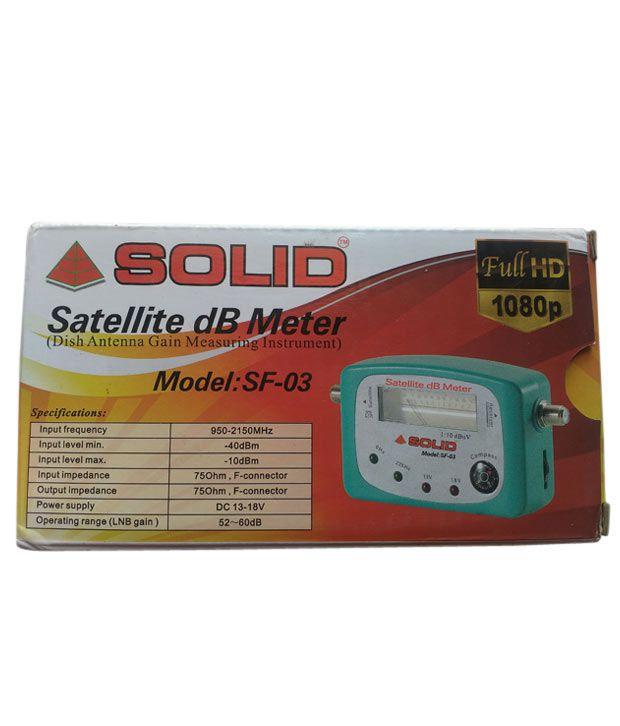 Solid Signal Finder Meter