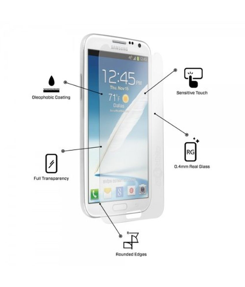 Samsung Galaxy Note II 7100 - Combo Pcs Matte Screen Guard by Uni Mobile Care