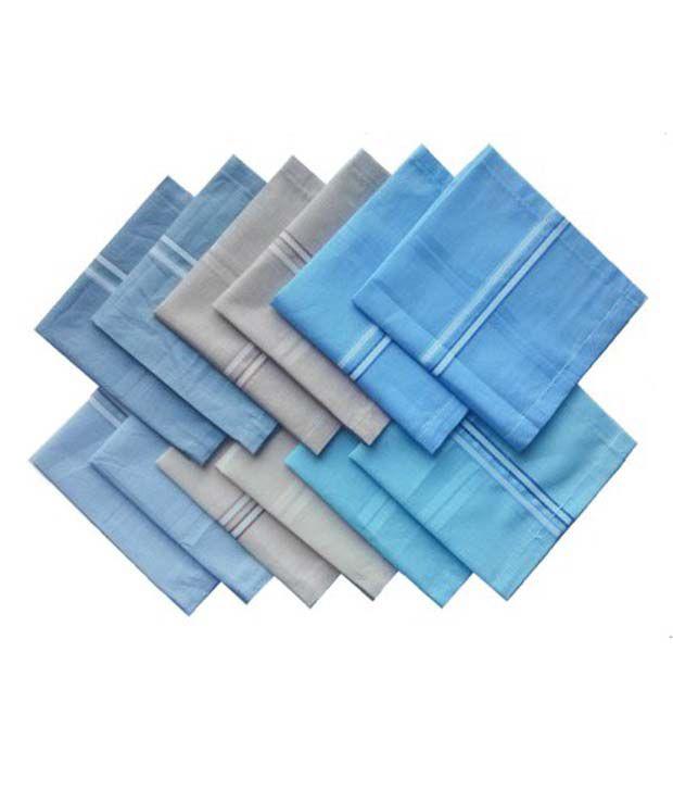 Amaze Fab Handkerchief For Men Pack Of 12