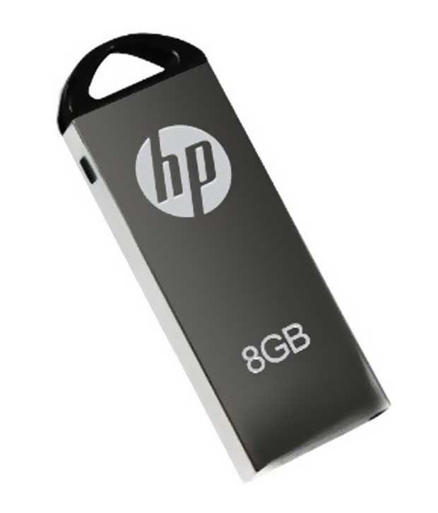 Hp V228g 8 Gb Pen Drives Steel Grey