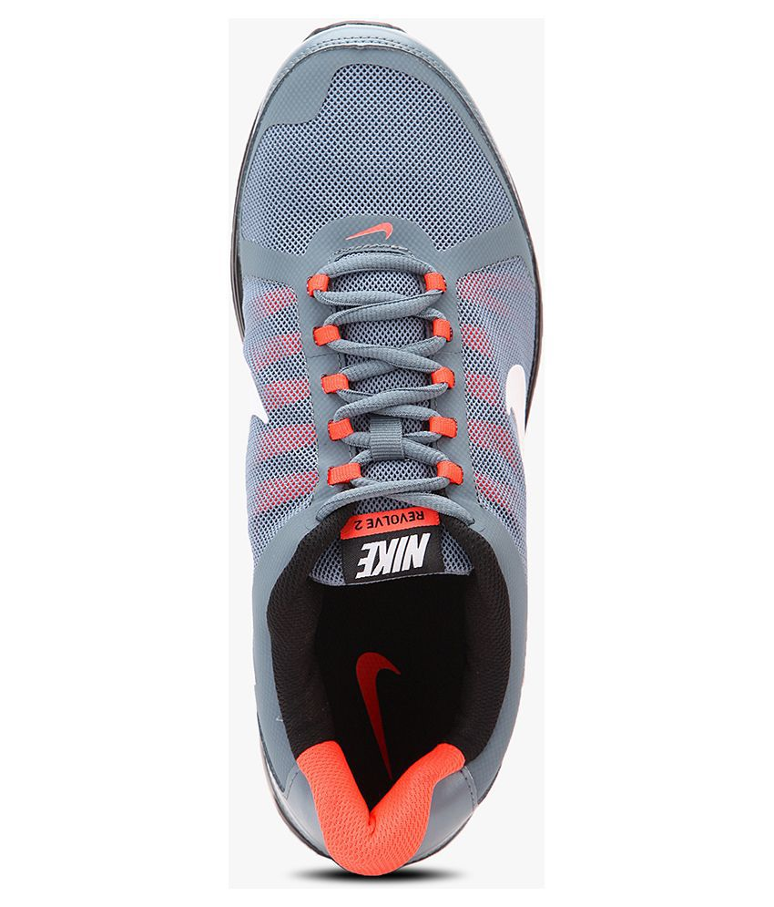 super popular 183e0 01700 Nike Revolve 2 Grey Sports Shoes - Buy Nike Revolve 2 Grey Sports ...
