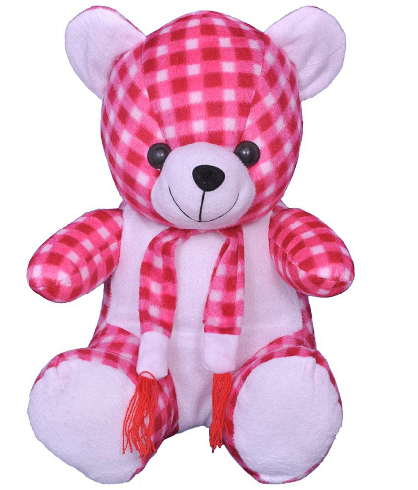 Soft toys teddy bear pink