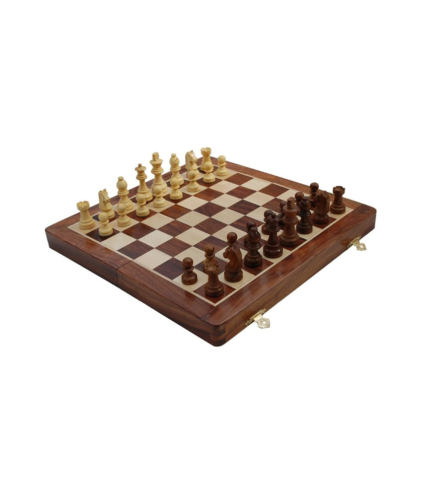 Chess And Games International Chess Board - 10 Inches