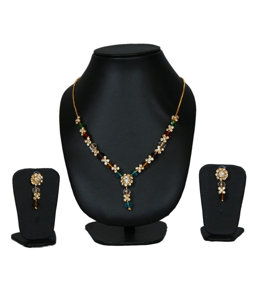 MUD Combo Of Necklace and 6 Kinfe and Peeler Set