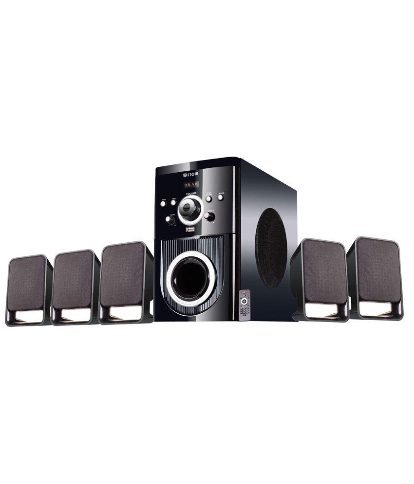 Flow 5.1 Buzz Multimedia Speaker Home Theater System