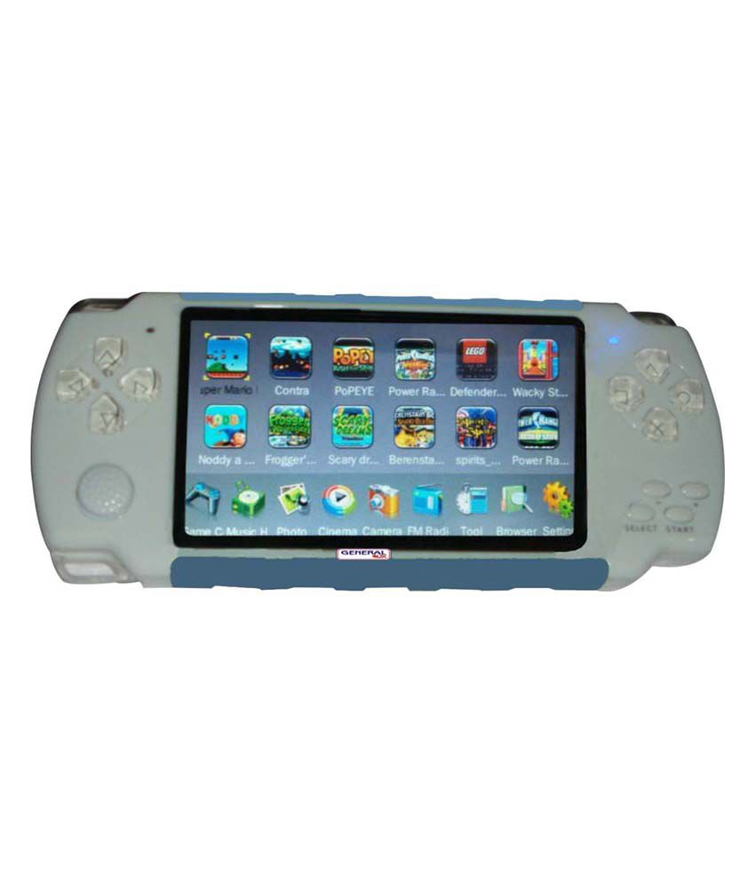 General Aux 3D Digital Player Game - White & Blue