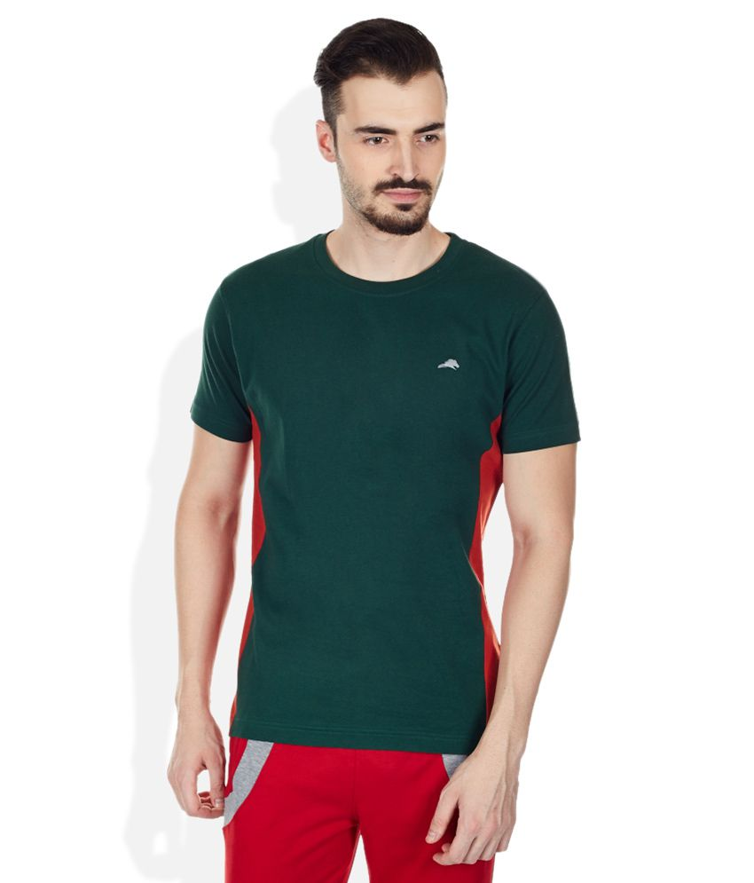 2go Green Round Neck T Shirt