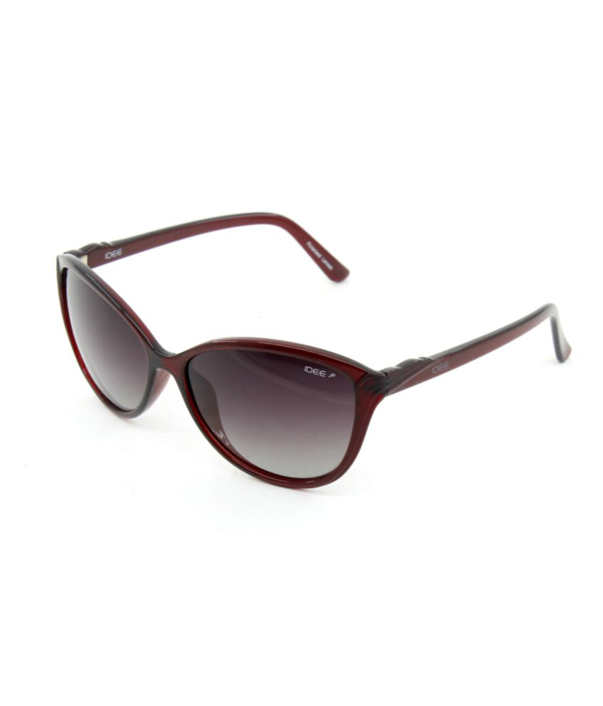 Idee Brown Cateye Polarized Sunglasses