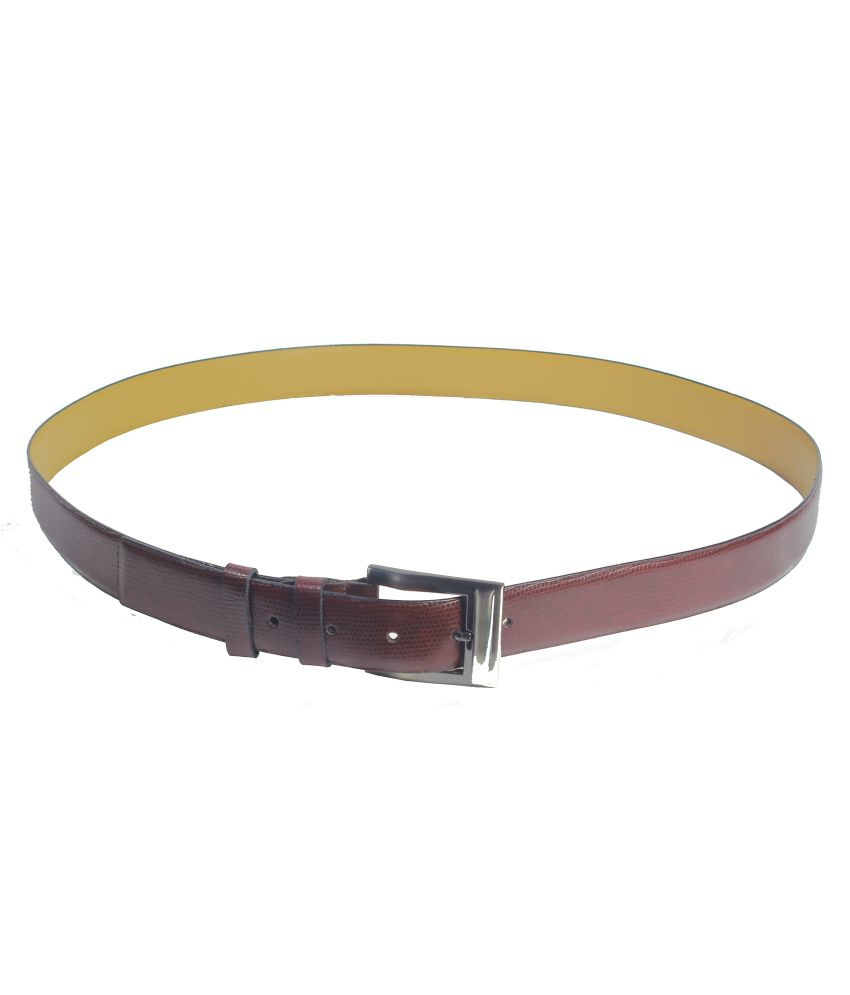 Revo Brown Single Belt For Men