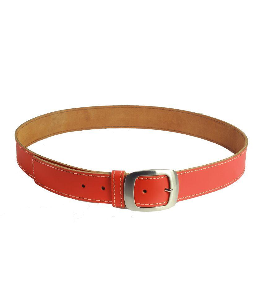 Revo Red Single Belt For Men