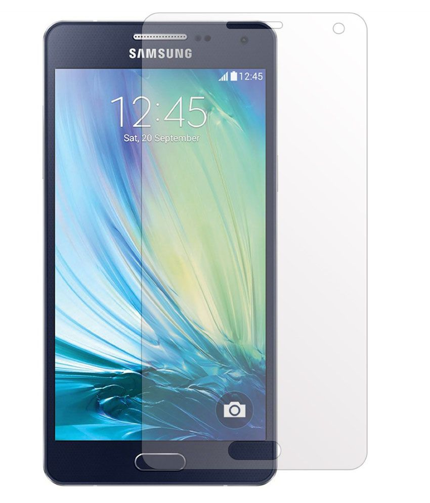 Samsung Galaxy A3 - Combo Of 2 Clear Screen Guard by Uni Mobile Care