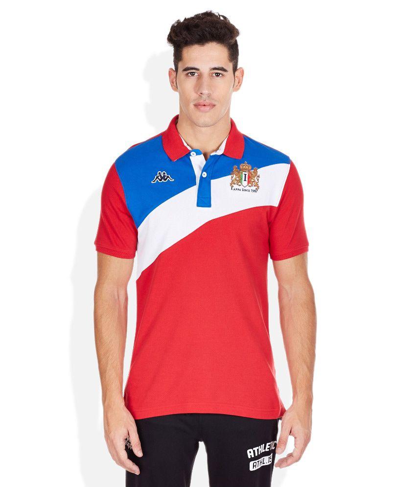Kappa Red Polo T-Shirt