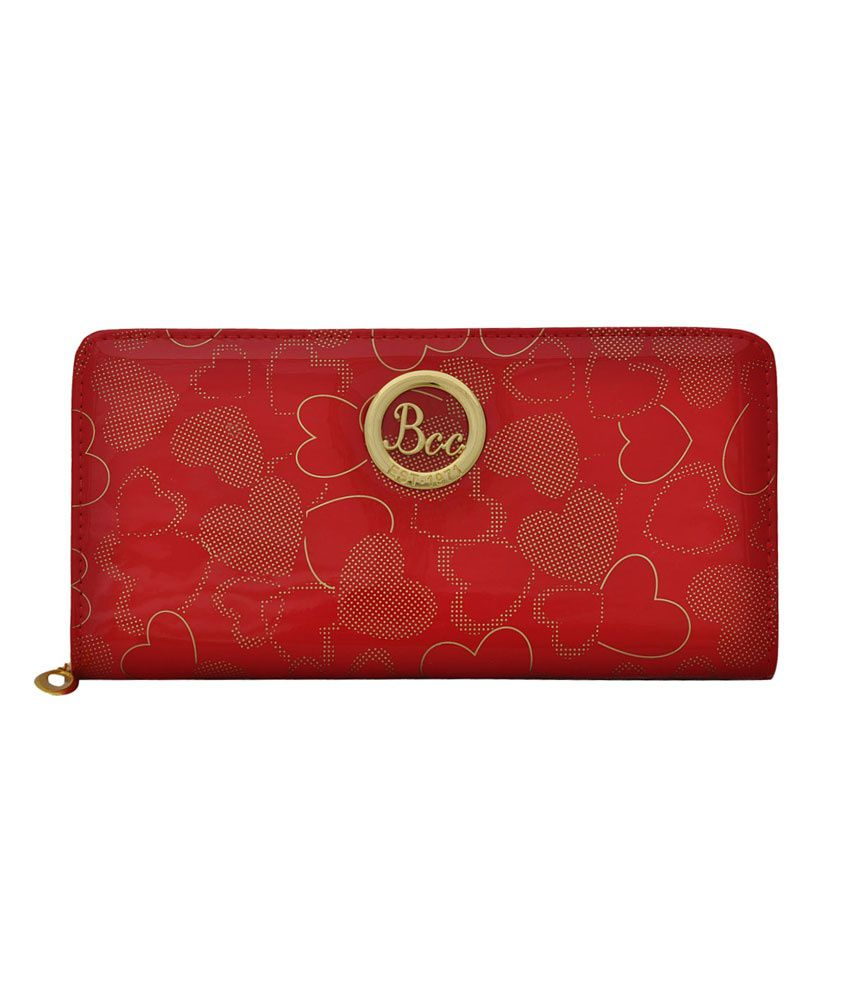 BCC Red Hearts Long Wallet