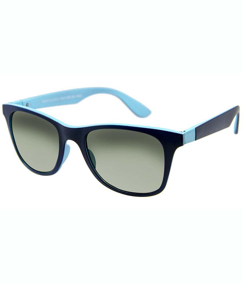 David Blake Gray Non Metal Wayfarer Unisex Sunglasses