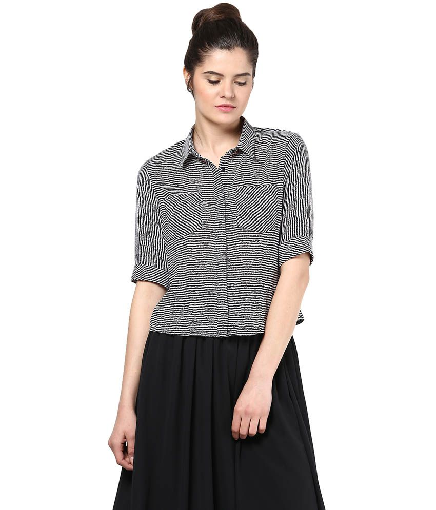 Femella Multi Color Poly Georgette Shirts
