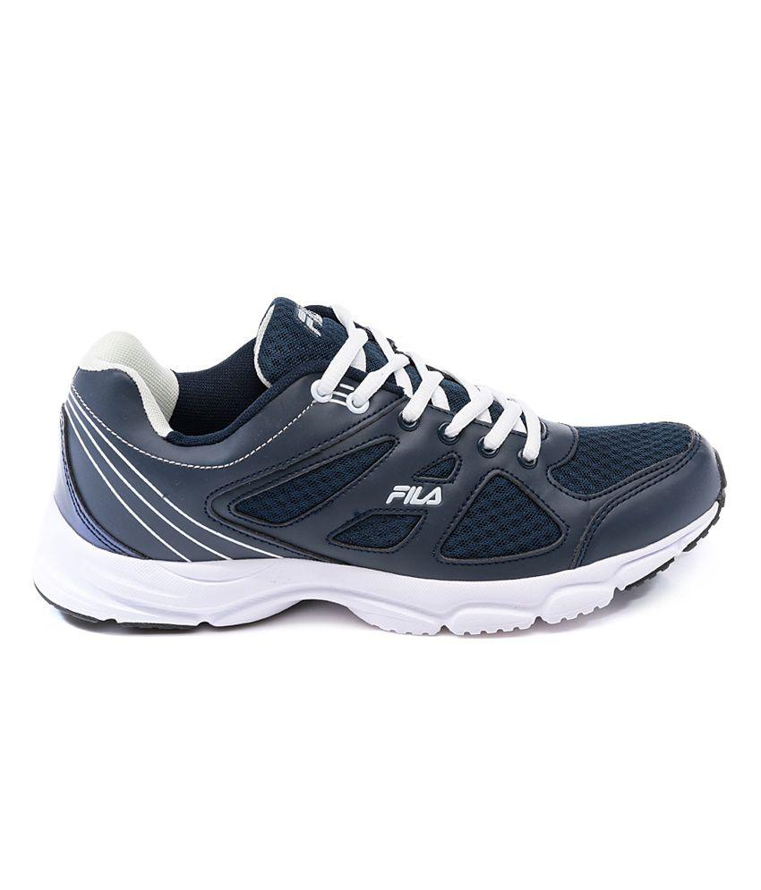 f70ae18b224 Fila Super Runner Navy   White Sports Shoes - Buy Fila Super Runner ...