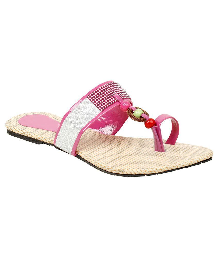 Geliyo Pink Daily Wear Flats