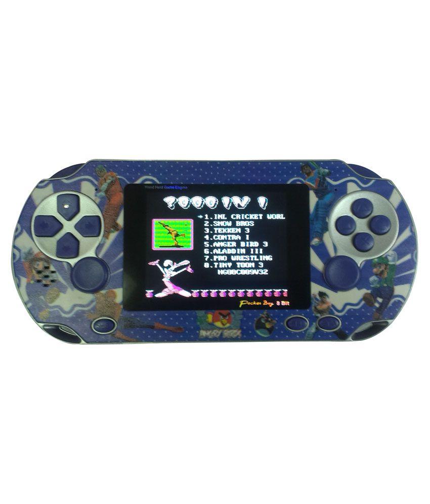 General AUX Vita 8 Bit Blue Pocket Game
