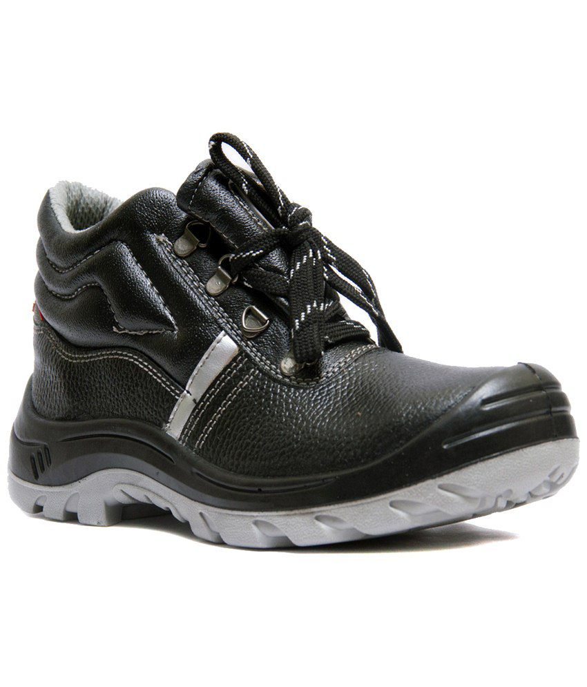 Buy Hillson Stamina Leather Safety Shoe Online At Low Price In India - Snapdeal