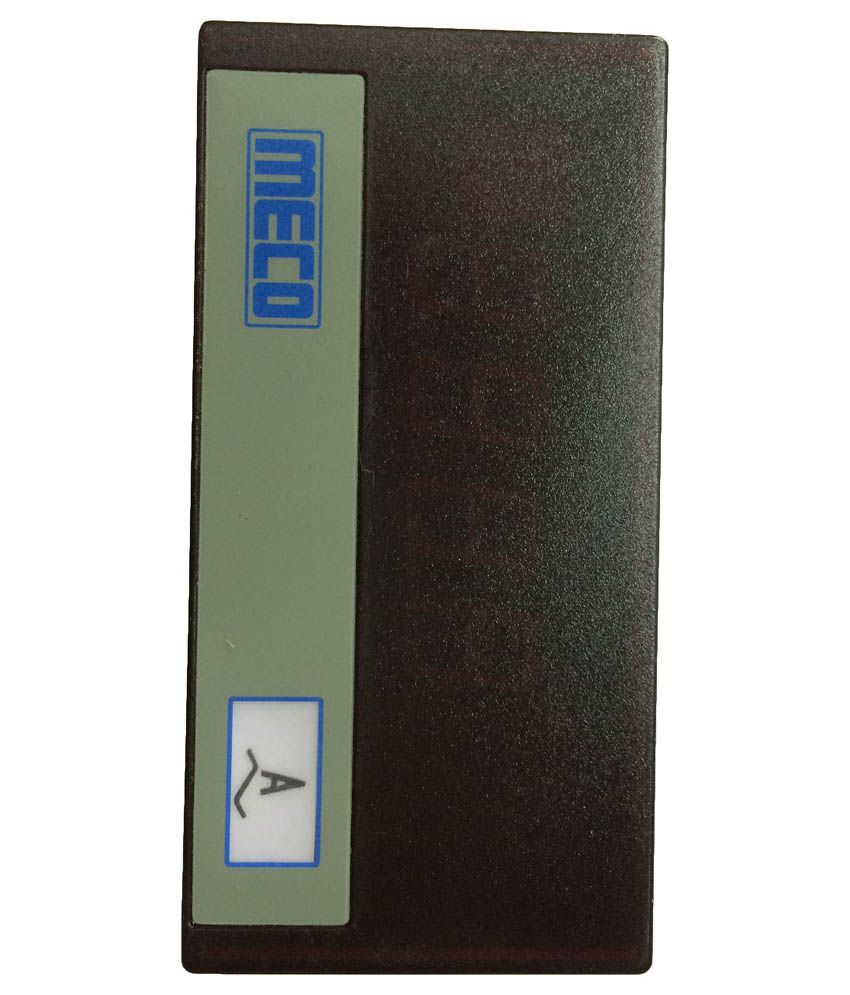 Meco Digital Panel Meter SMP35SRS Range :0-5A AC (CT Operated): Buy