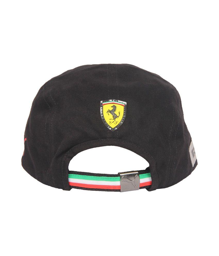 Puma Ferrari Scuderia Cap - Black - Buy Online   Rs.  aae42c0dafc