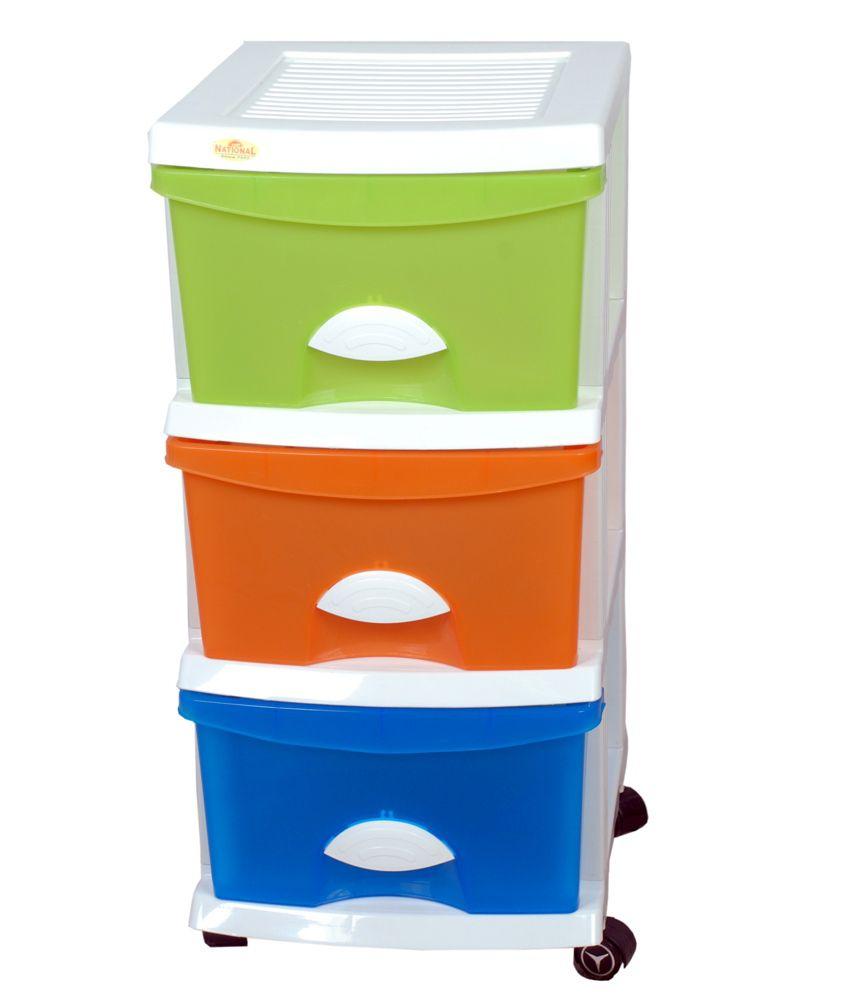 multi purpose storage cabinet with 3 drawers buy multi purpose rh snapdeal com