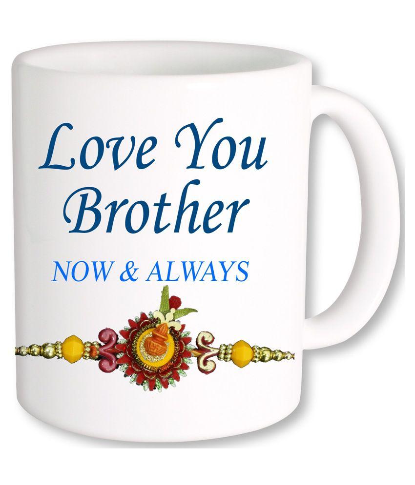 Photogiftsindia Love U Brother Mug Multicolour Buy Online At Best