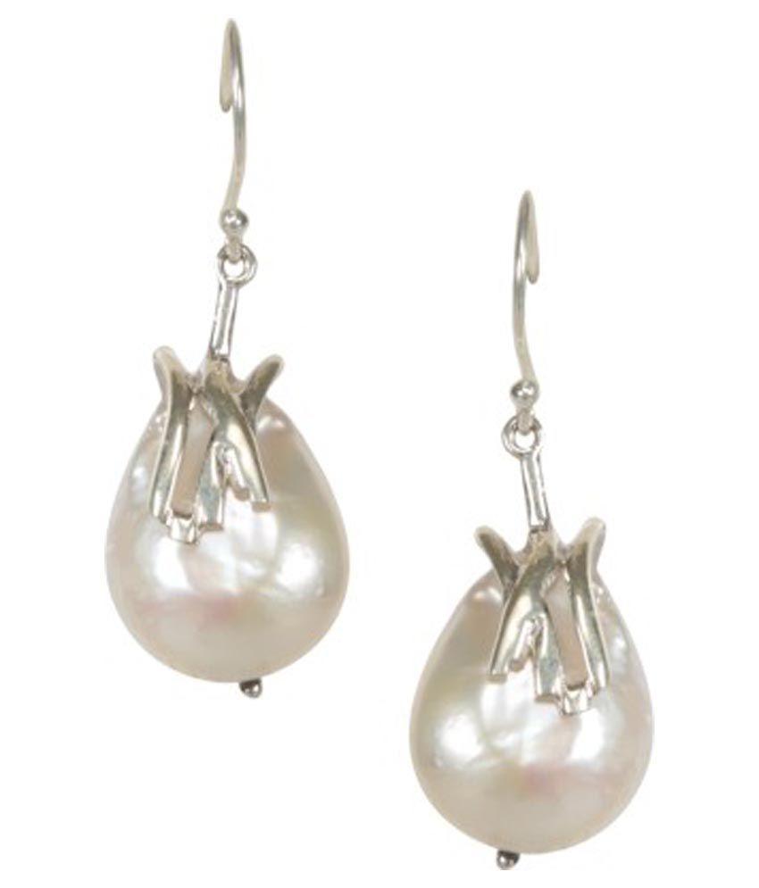 URB-N-ANGELS 92.5 Sterling Silver Drop Earrings
