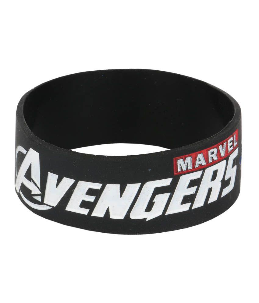 M s merchant eshop avengers design wrist band buy online at best price on snapdeal - Mechant avenger ...