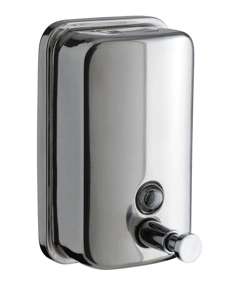 buy dolphy stainless steel liquid soap dispenser ml online at  -  dolphy stainless steel liquid soap dispenser ml