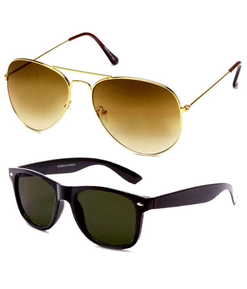 Neolithic bklwfr-20005 Round Sunglass With Wayfarer Sunglasses