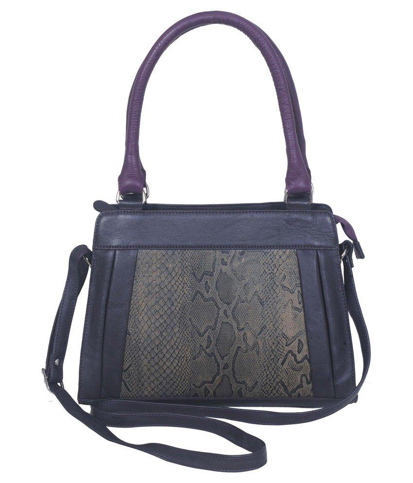 Czar Gray Satchel Bag