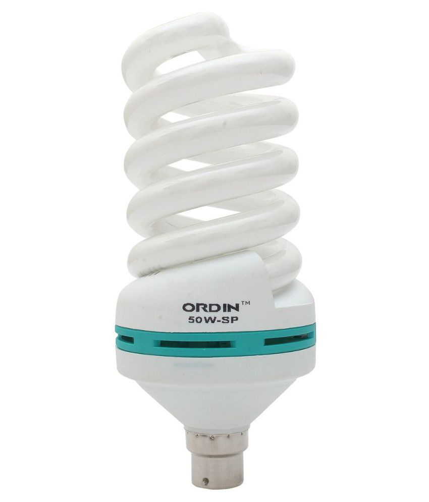 Ordin White 50 Watt Spiral CFL Image