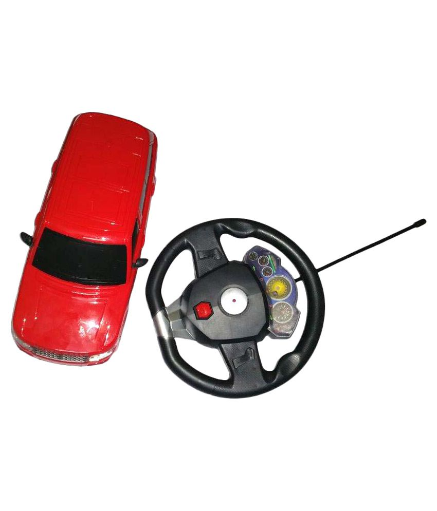 Scrazy 5010 Remote Control Model Vehicle Range Rover Gravity Sensor Car With Steering - Red