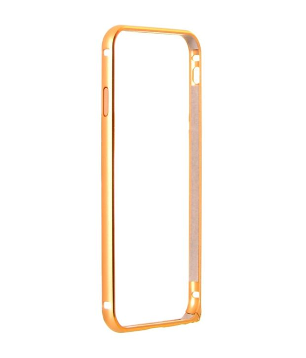 Vcrafts Hard Shell Bumper Case For Apple Iphone 5 - Golden