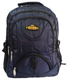 Daikon Blue Polyester Backpack