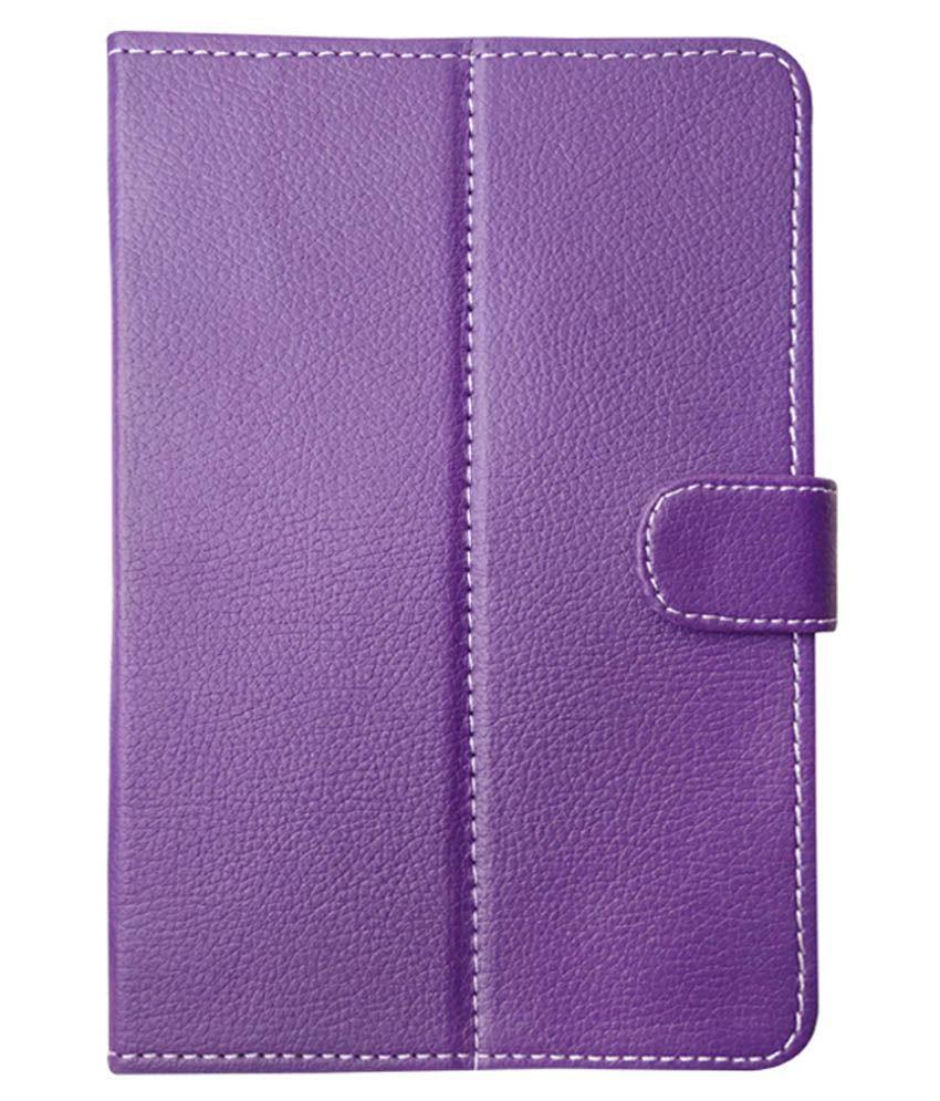 Fastway Flip Cover For Byond Mi - Book Mi - 1 - Purple
