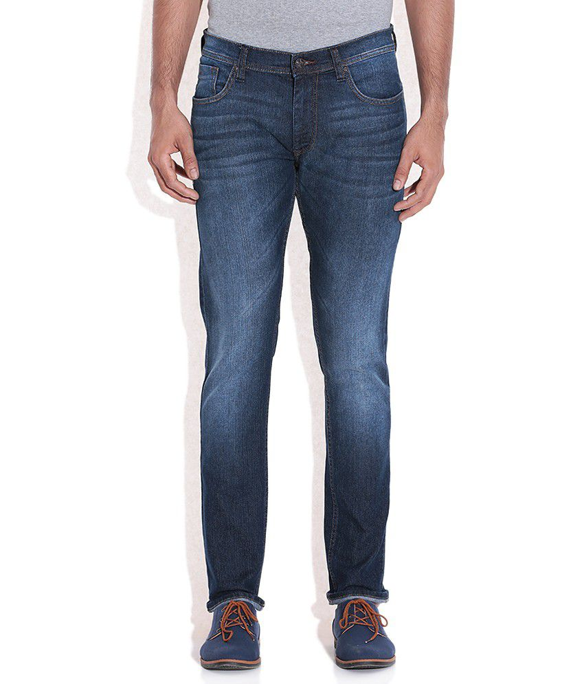 Lee Blue Luke Slim Fit Jeans