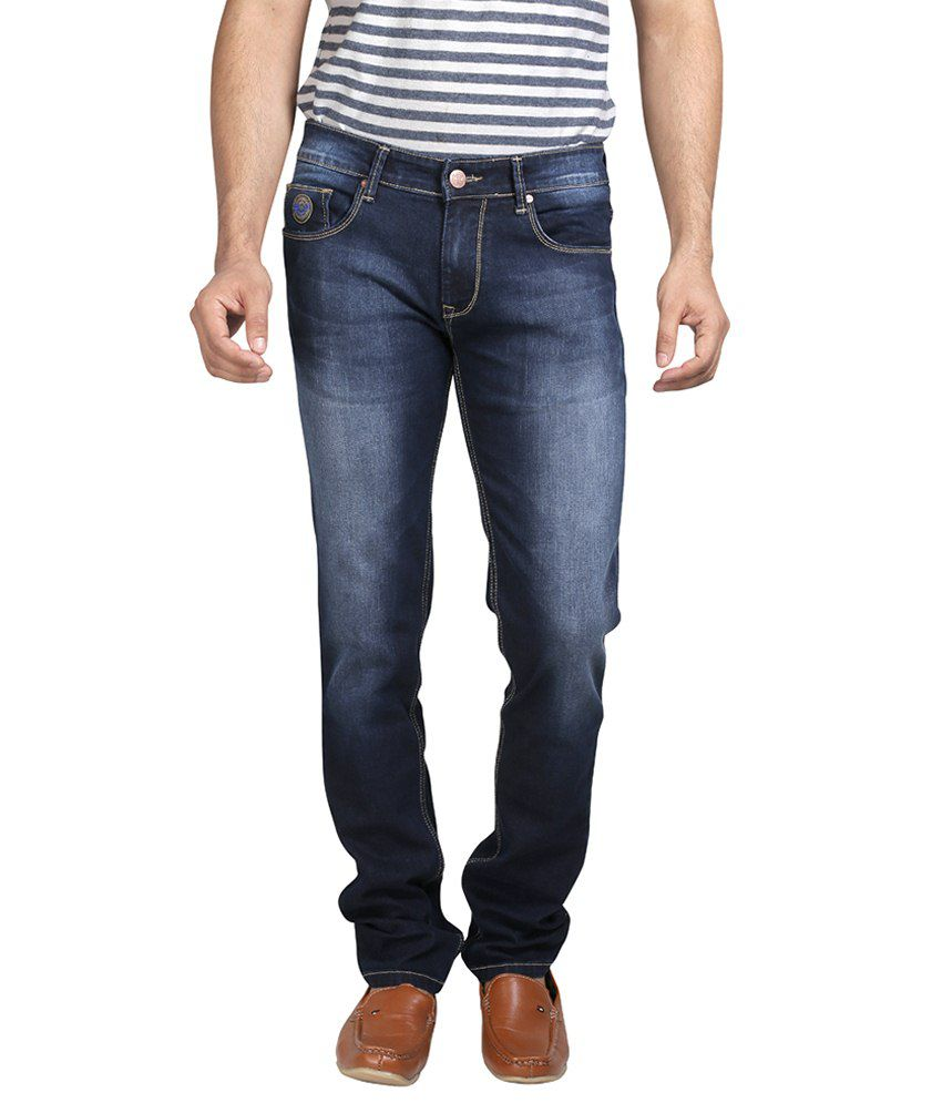 Mojave Blue Cotton Jeans