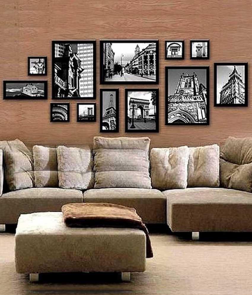 Adorable Photo Frames Pvc Wall Hanging Black Photo Frame