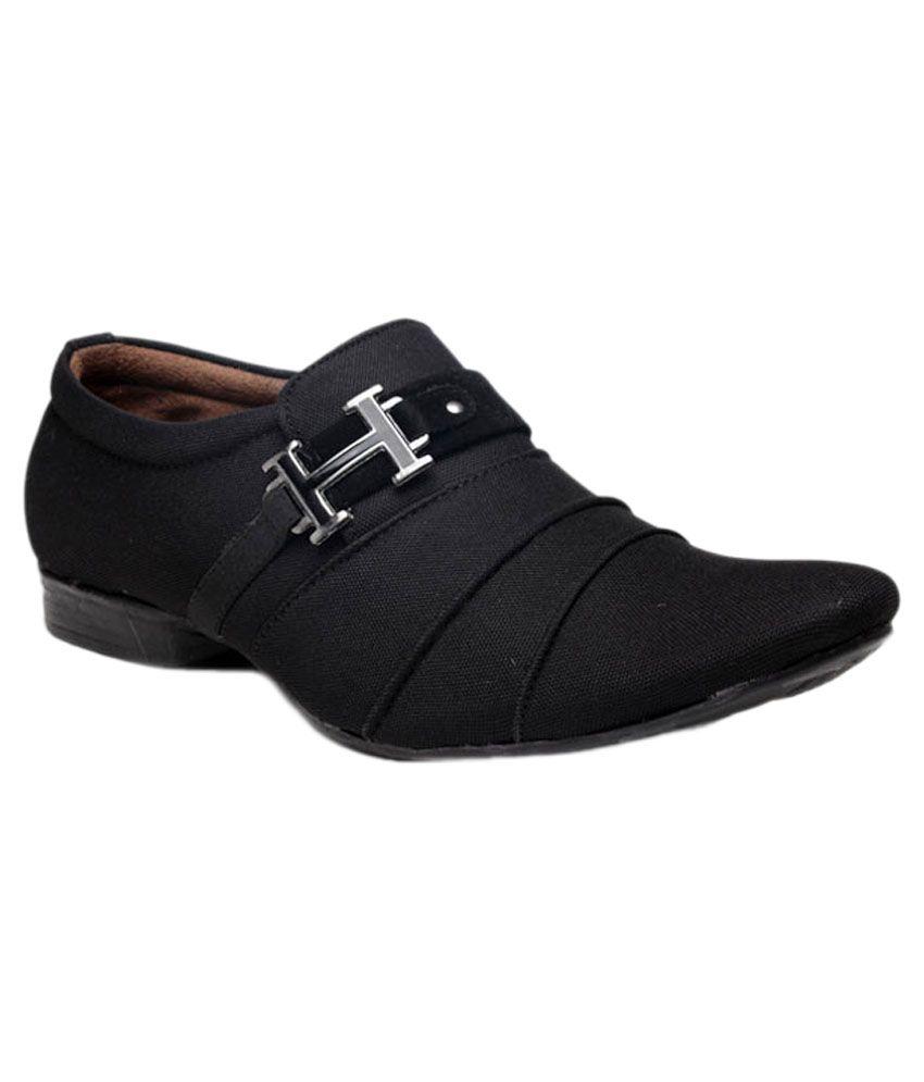 8c874a79644c0 Footista Black Party Shoes - Buy Footista Black Party Shoes Online ...