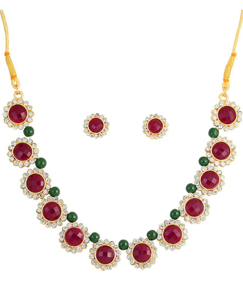 Touchstone Austrian Diamond Necklace Set