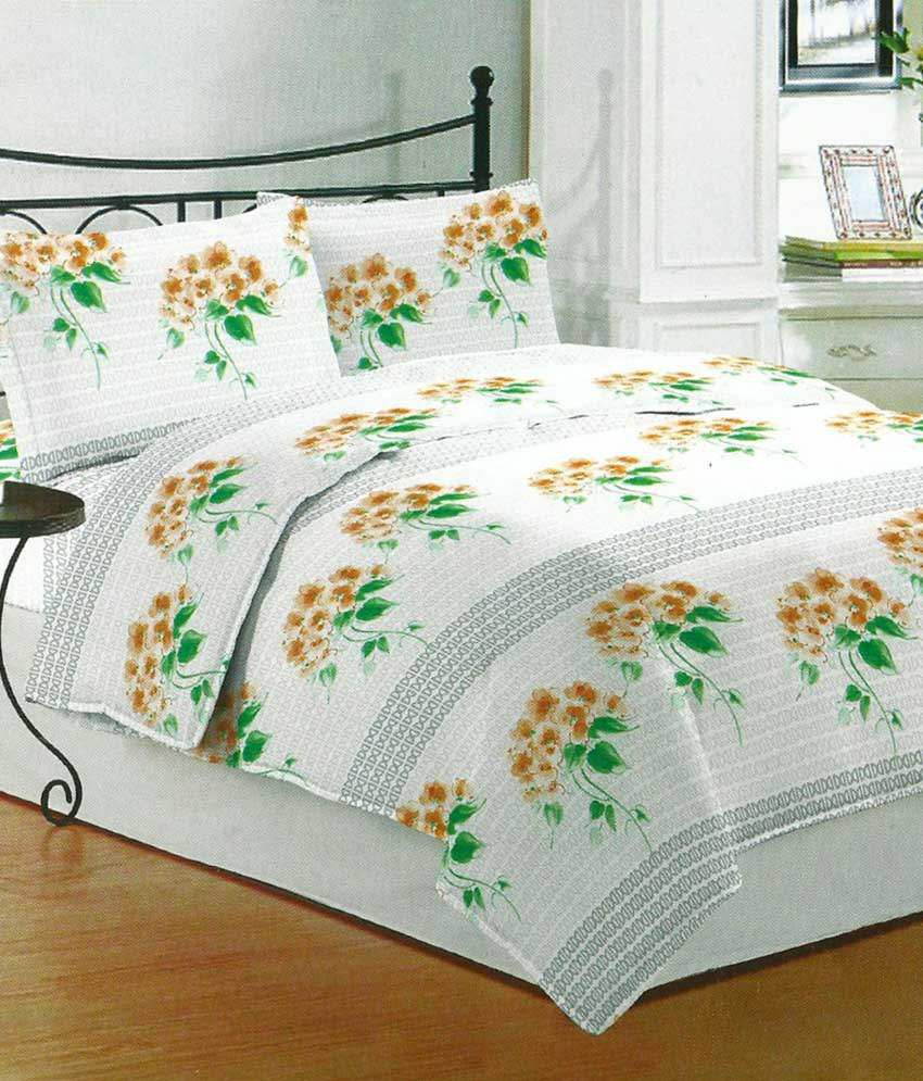 Bombay Dyeing Double Bed Sheets