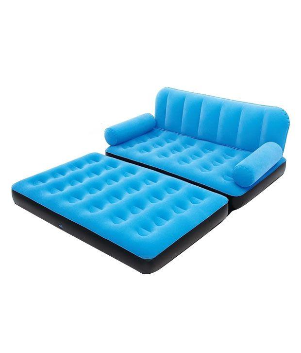 Walmart Online Furniture: Bestway 5 In 1 Air Inflatable Sofa In Blue