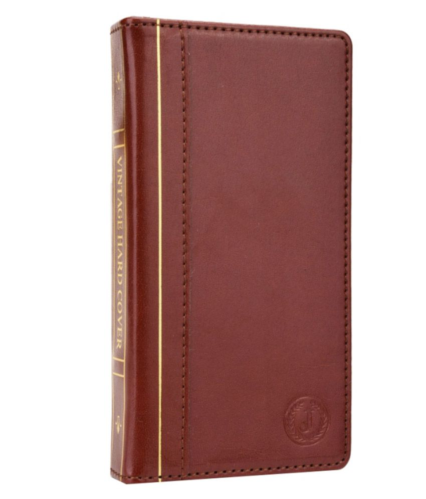 Jo Jo Synthetic Flip Cover For Sony Xperia Acro S - Brown
