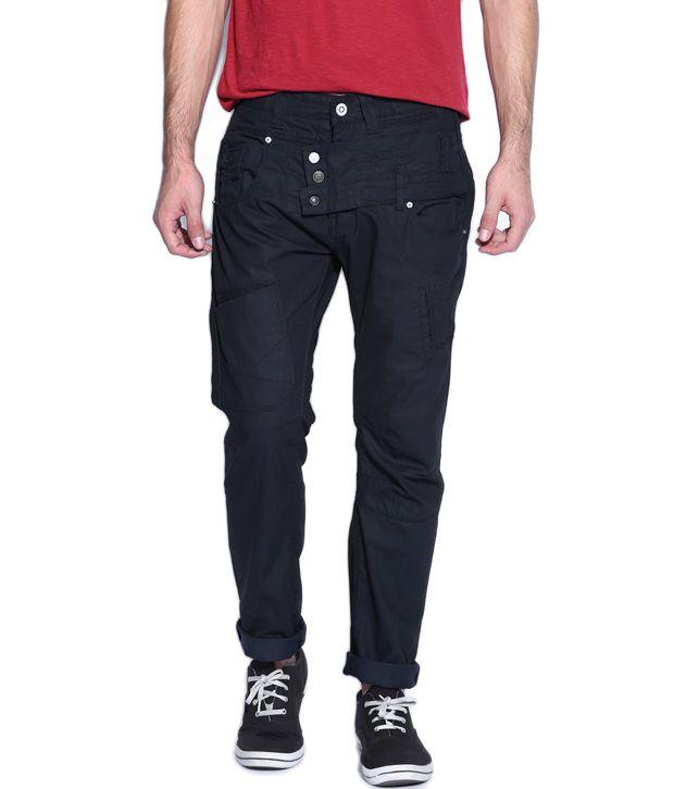 883 Police Atlanta Dark Blue Men's Slim Fit Jeans