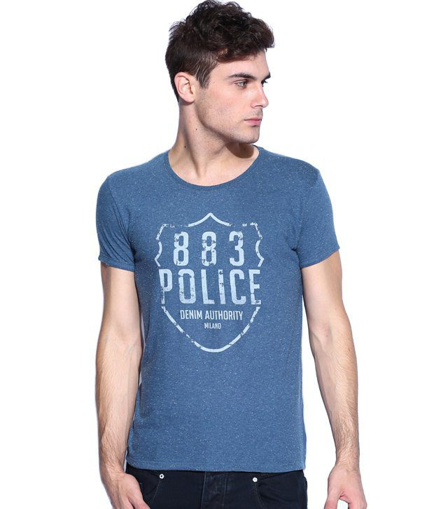 883 Police Nypd Deep Navy T-shirt