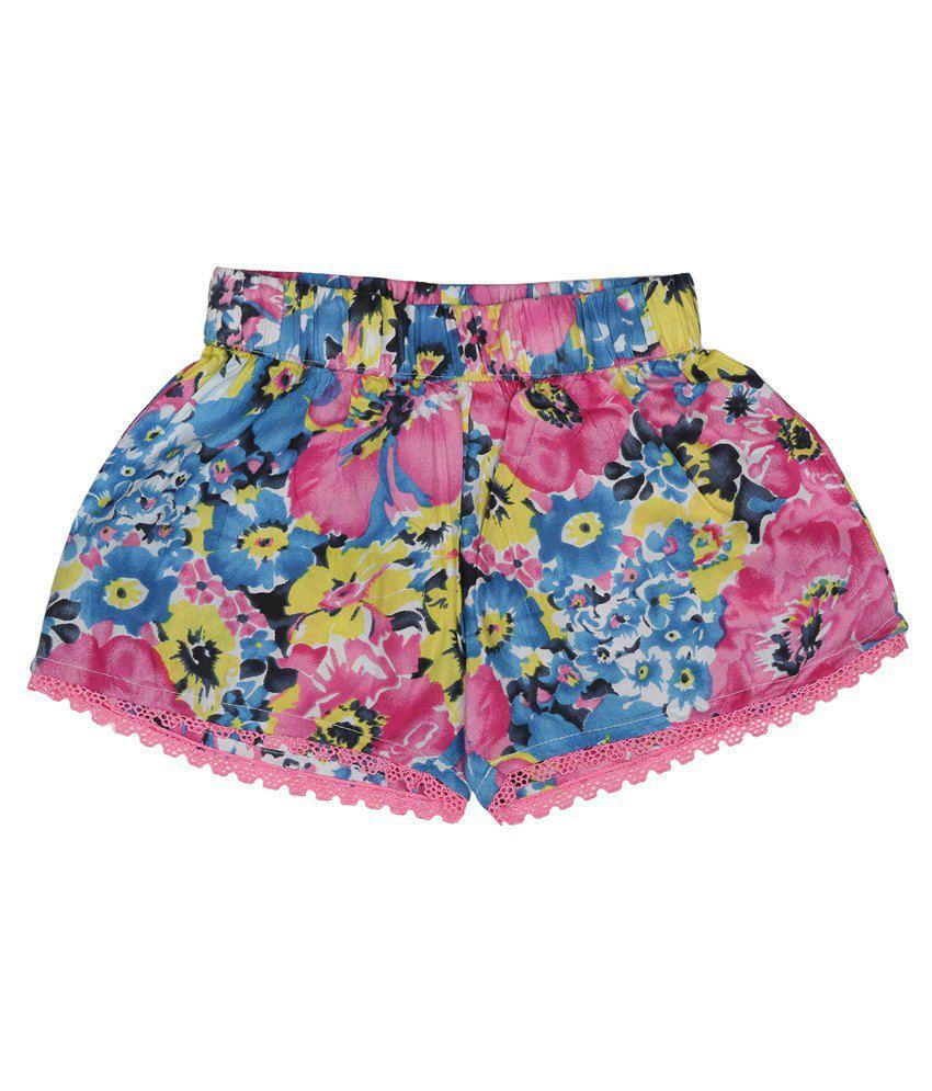 Addyvero Multicolour Denim Shorts